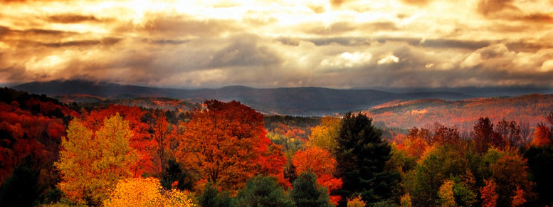 Stock photo: vermont, usa
