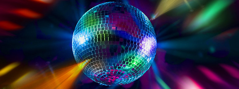 Stock photo: disco party balls