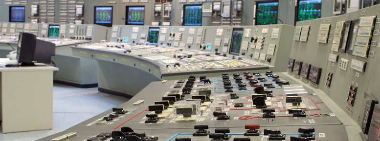 Stock photo: control room