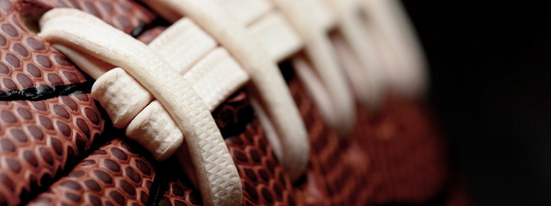 Stock photo: american football macro