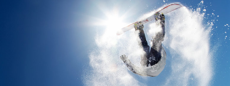 Stock photo: snowboard