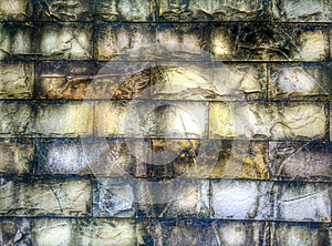 Abstract grunge brick pattern