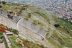 Pergamon acropolis theatre