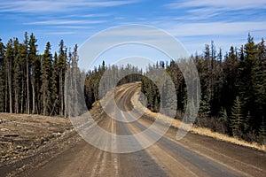 Alaska Highway Canada Suicide Trail