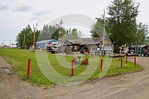 Alaska Highway Fort Nelson