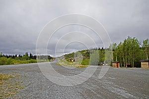 Alaska Highway Rest Stop