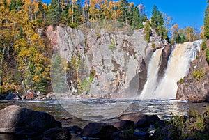 Autumn, baptism falls