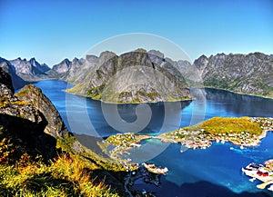 Beautiful Landscape, Reine, Lofoten