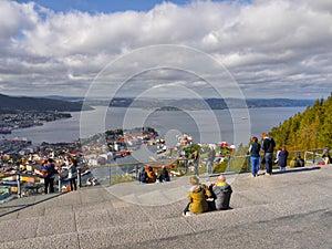 Bergen, Floyen View, Norway