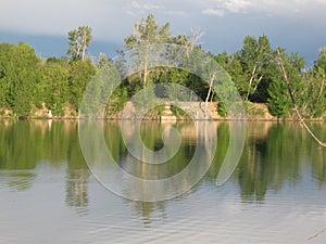 Boise Cascade Lake reflections
