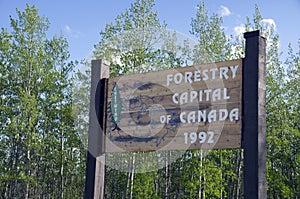 Chetwynd British Columbia Canada