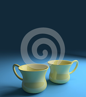 Coffee tea cups