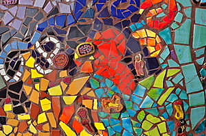 Colorful Mosaic Ceramic Tile Image