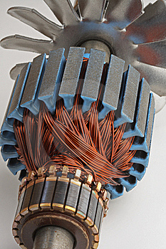 Copper Coils from Electric Motor