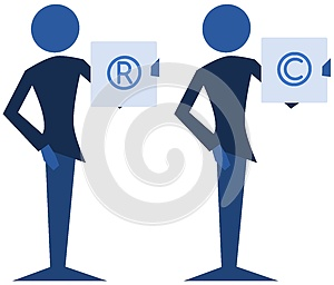 Copyright and trademark