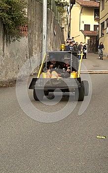 Corsa della casella, Azeglio Italia