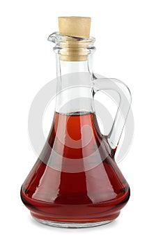 Dekantiergefäß mit Rotweinessig