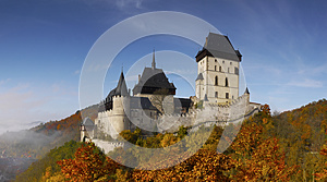 Fairytale Medieval Castle Panorama