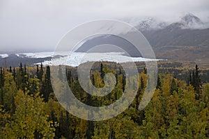 Fall Matanuska Glacier Alaska