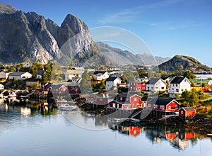 Famous Lofoten, Norway Landscape, Nordland
