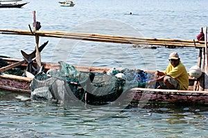 Fisherman.(Lamalera,Indonesia)