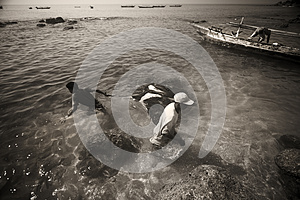 Fishermans.(Lamalera,Indonesia)