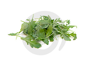 Frischer Rucola Salat