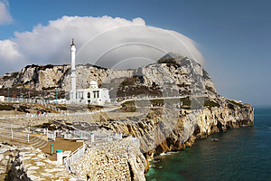 Gibraltar, Europa Point, Mosque