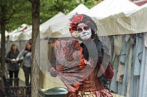 Halloween Gypsy Woman
