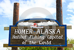 Homer Alaska - Halibut Fishing Capital