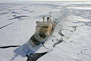 Icebreaker on Antarctica - Stock Photos Antarctica Tourists Locations