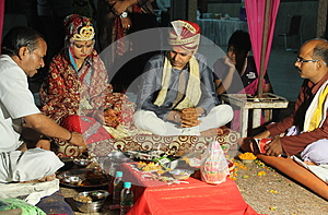 Indian marriage ritual