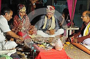 Indian marriage ritual
