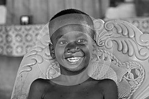 Indonesian children smiling
