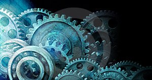 Industrial Cogs Gears Background