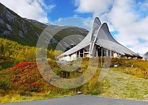 Jostedalen, Glacier Visitor Centre, Breheimsenteret, Norway