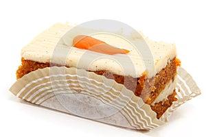 Karotte-Kuchen-Scheibe