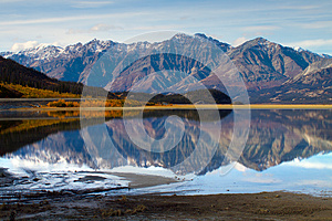 Kluane Lake, Yukon Territories