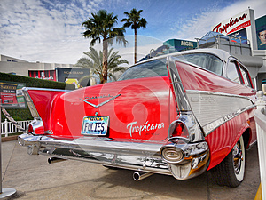 Las Vegas, Nevada - Chevrolet Bel Air Tropicana Hotel