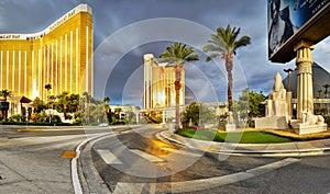 Las Vegas, Nevada - Sunrise Mandalay Bay Hotel