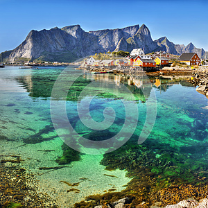 Lofoten Islands, Fjords, Arctic, Norway