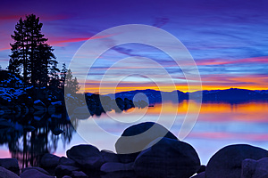 Magical Tahoe Sunset