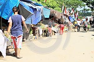 Market in Waisai