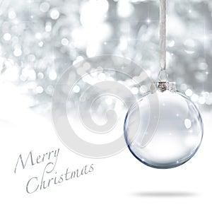 Merry Christmas ball