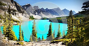 Moraine Lake, Best Canadian Lakes