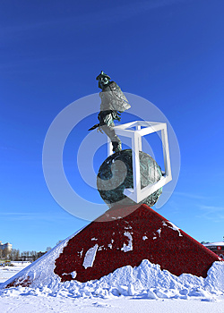 Monument to the gladiator Spartacus