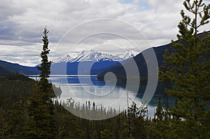 Muncho Lake Alaska Highway Canada