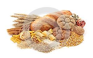 Nahrungsmittel hoch im Kohlenhydrat