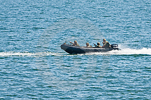Navy speed boat attack