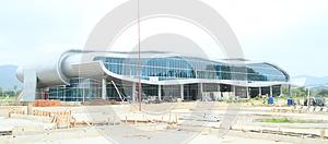New airport building in Labuan Bajo